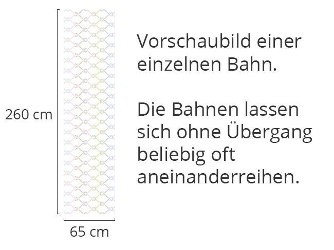 Designtapete Geknotetes Fischernetz