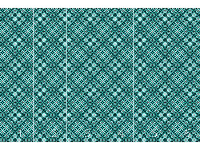 Designtapete Netz Aus Blüten