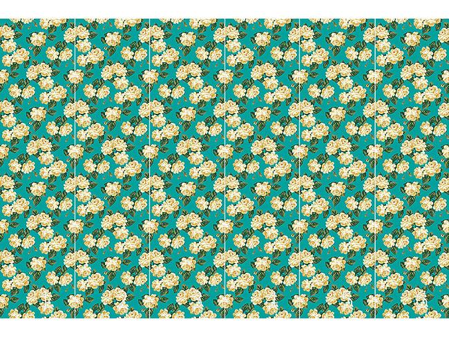 Designtapete Vintage Rosen Bouquet