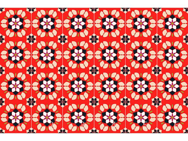 Designtapete Flor De Lotto