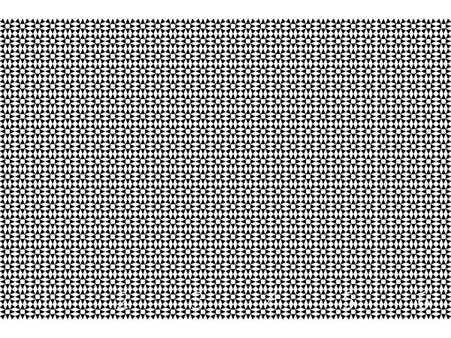 Designtapete Schwarzer Diamant Illusion