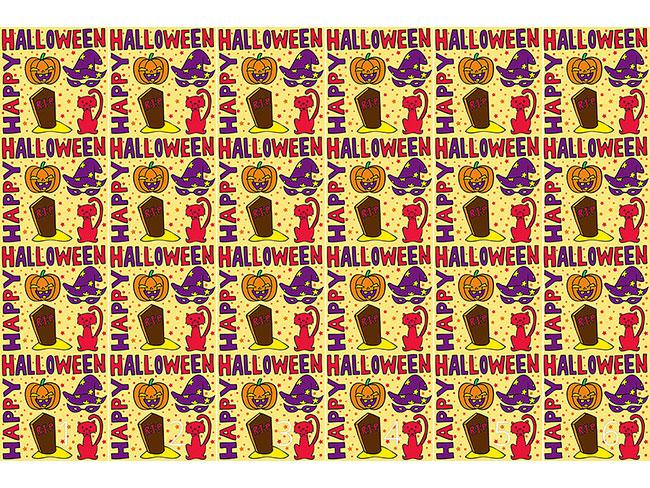 Designtapete Halloween Grüsse