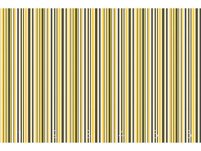 Designtapete Bienen Linien