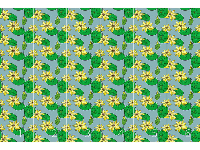 Designtapete Lotus