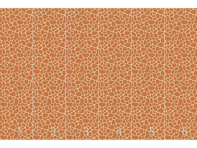 Designtapete Giraffenbaby