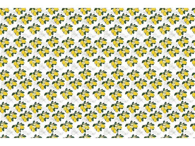 Designtapete Zitronen