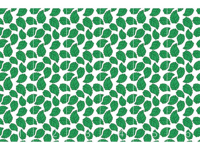 Designtapete Hopfen Blätter