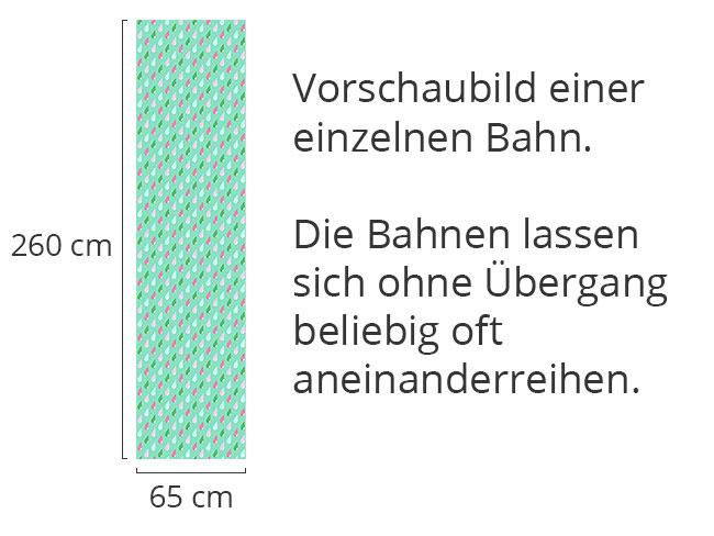 Designtapete Niederschlag
