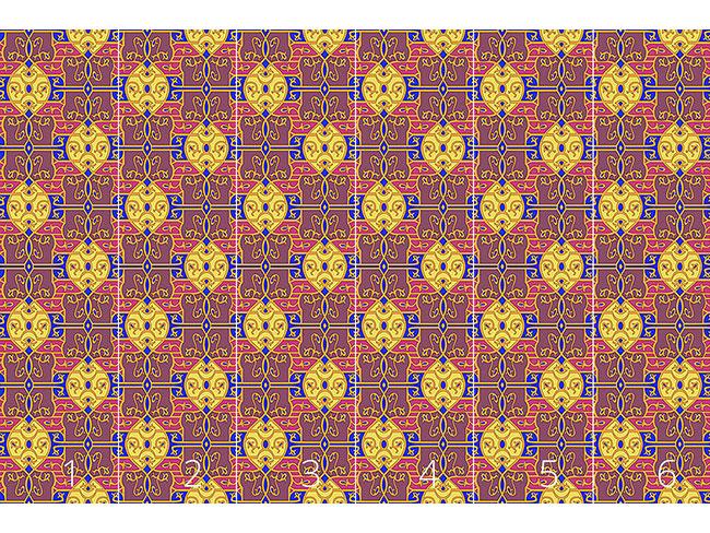 Designtapete Opulenz zum Quadrat