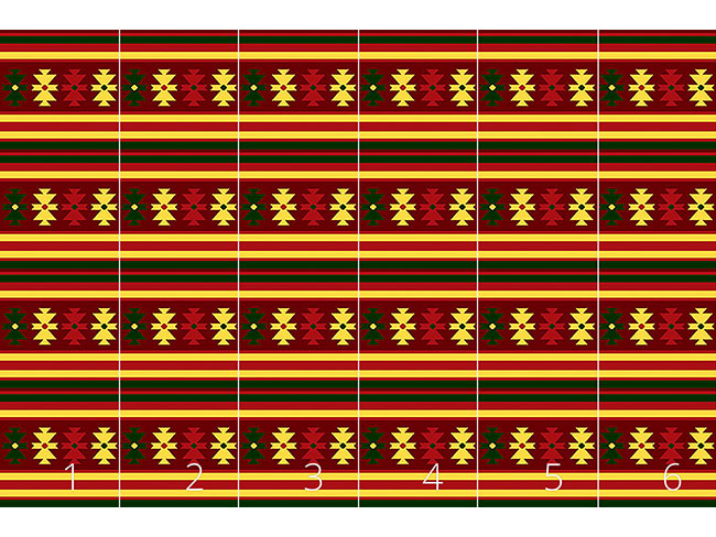 Designtapete Traditioneller Kelim