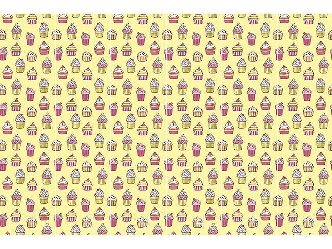 Designtapete Alle Arten Von Cupcakes