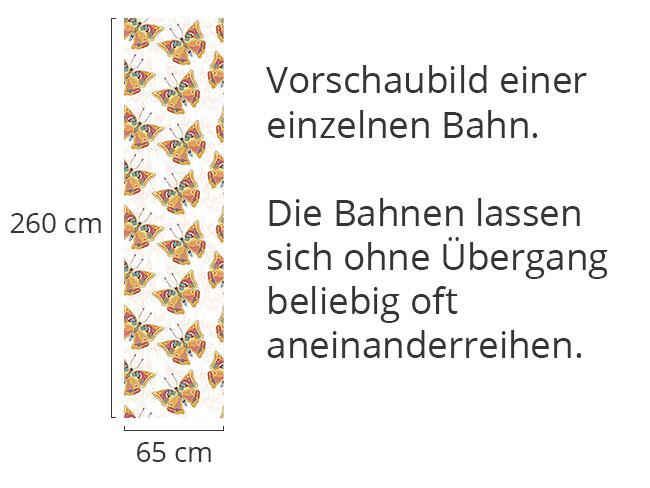 Designtapete Zarte Schmetterlinge