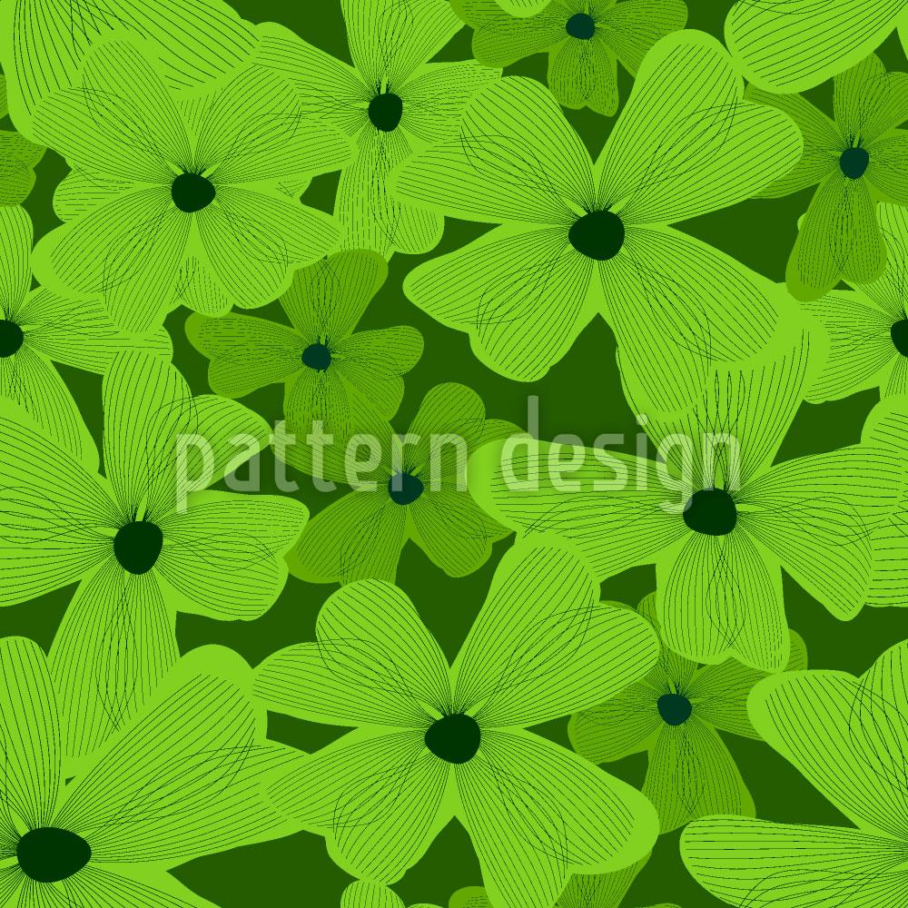 Designtapete Blumen Geben Hoffnung