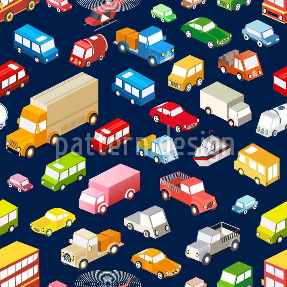 Designtapete Städtischer Verkehr