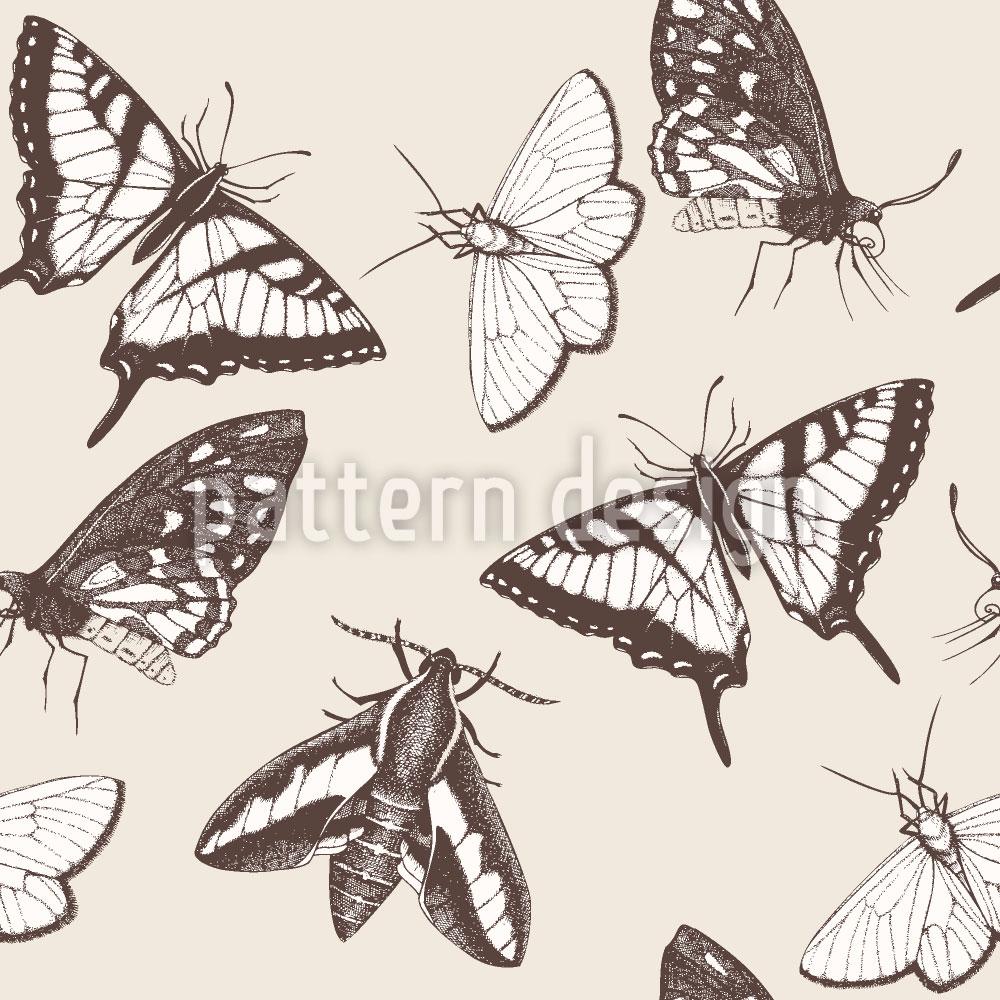 Designtapete Schmetterlinge und Falter