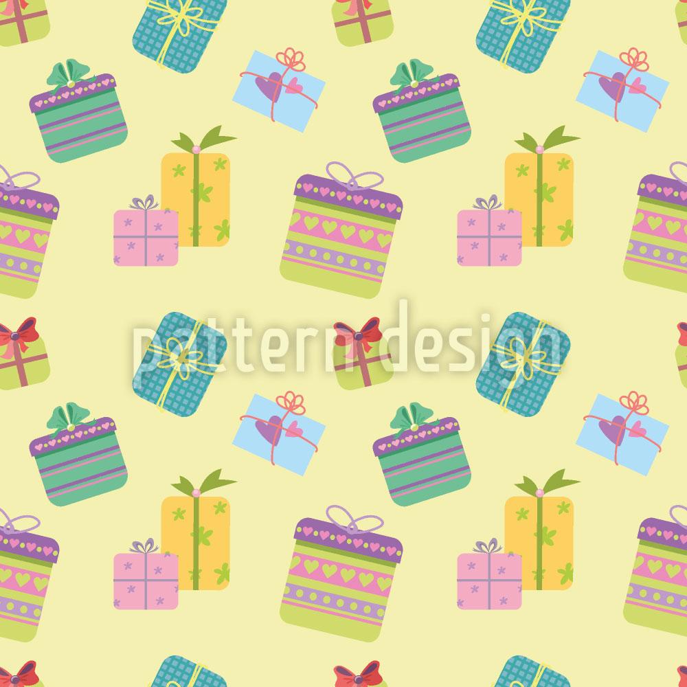Designtapete Geschenke
