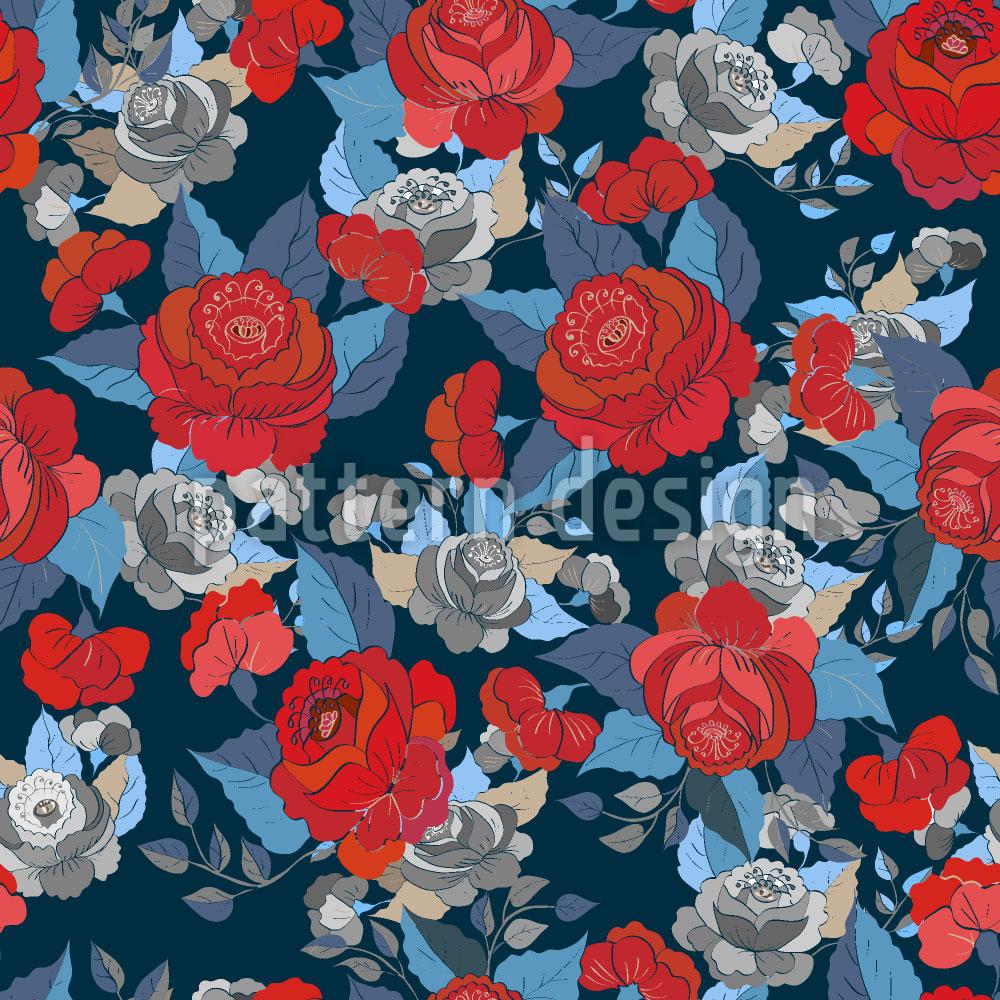 Designtapete Die Rosen Sammlung