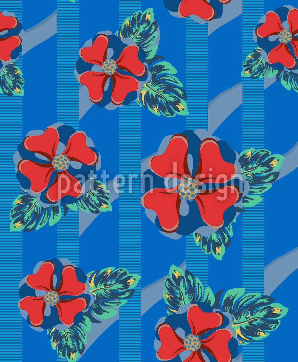 Designtapete Mein Tropisches Paradies