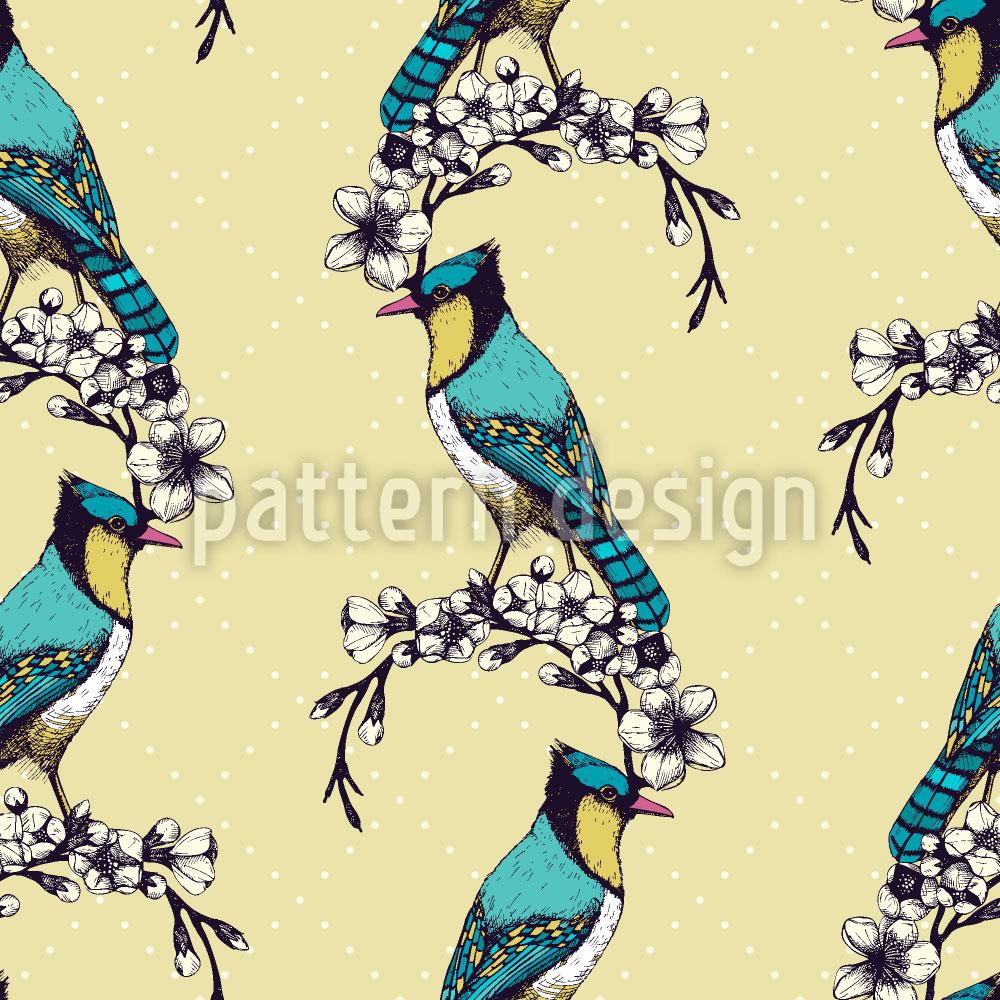 Designtapete Vogel Schönheit