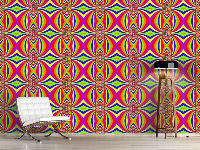 Designtapete Der Regenbogen Twist