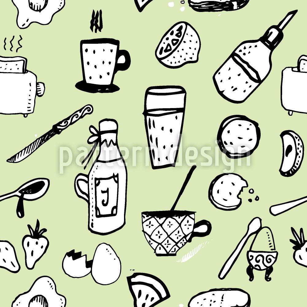 Designtapete Englisches Frühstück