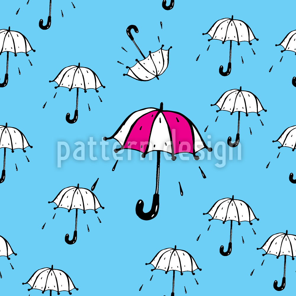 Designtapete Spass im Regen