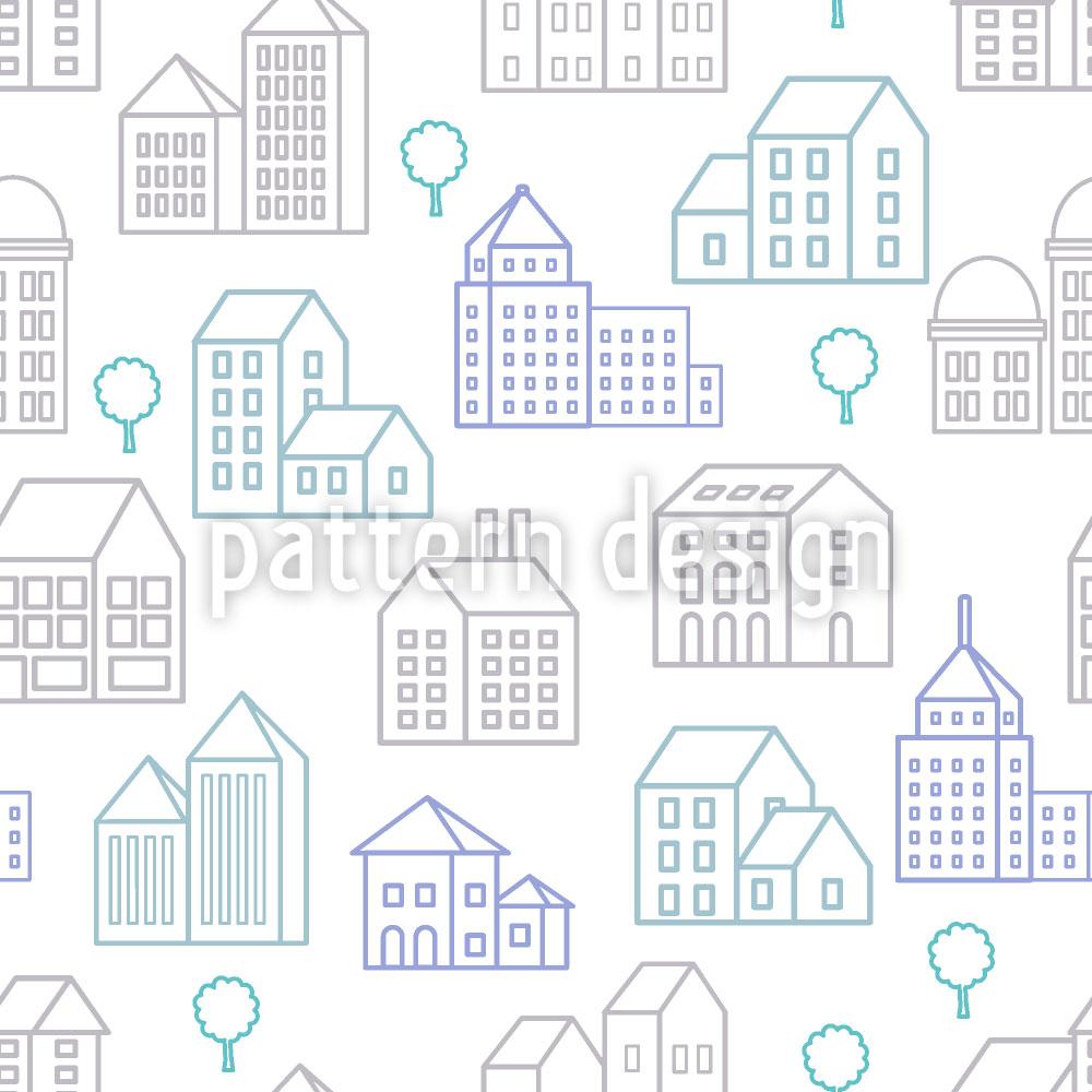 Designtapete City Line