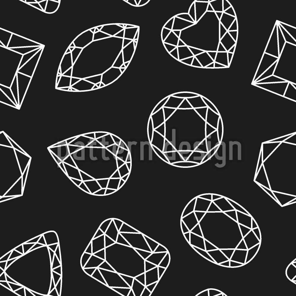 Designtapete So Viele Diamanten