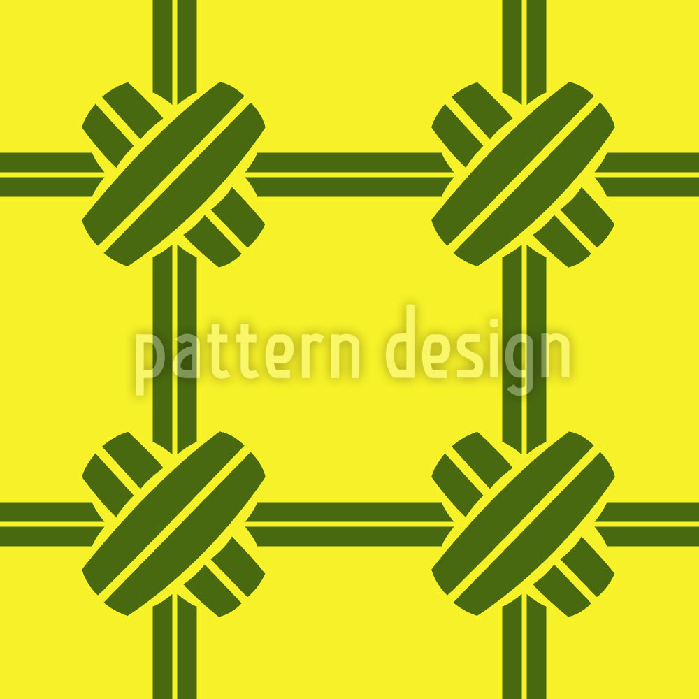 Designtapete Bambus Verbindung