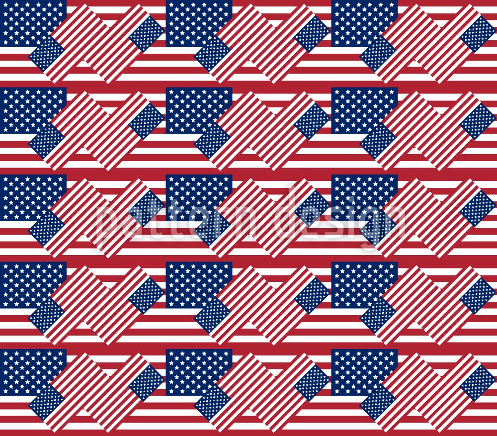 Designtapete Patriotische USA
