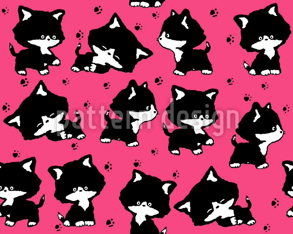 Designtapete Niedliche Kätzchen