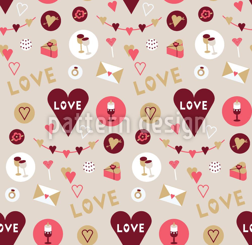 Designtapete Zeig Deine Liebe