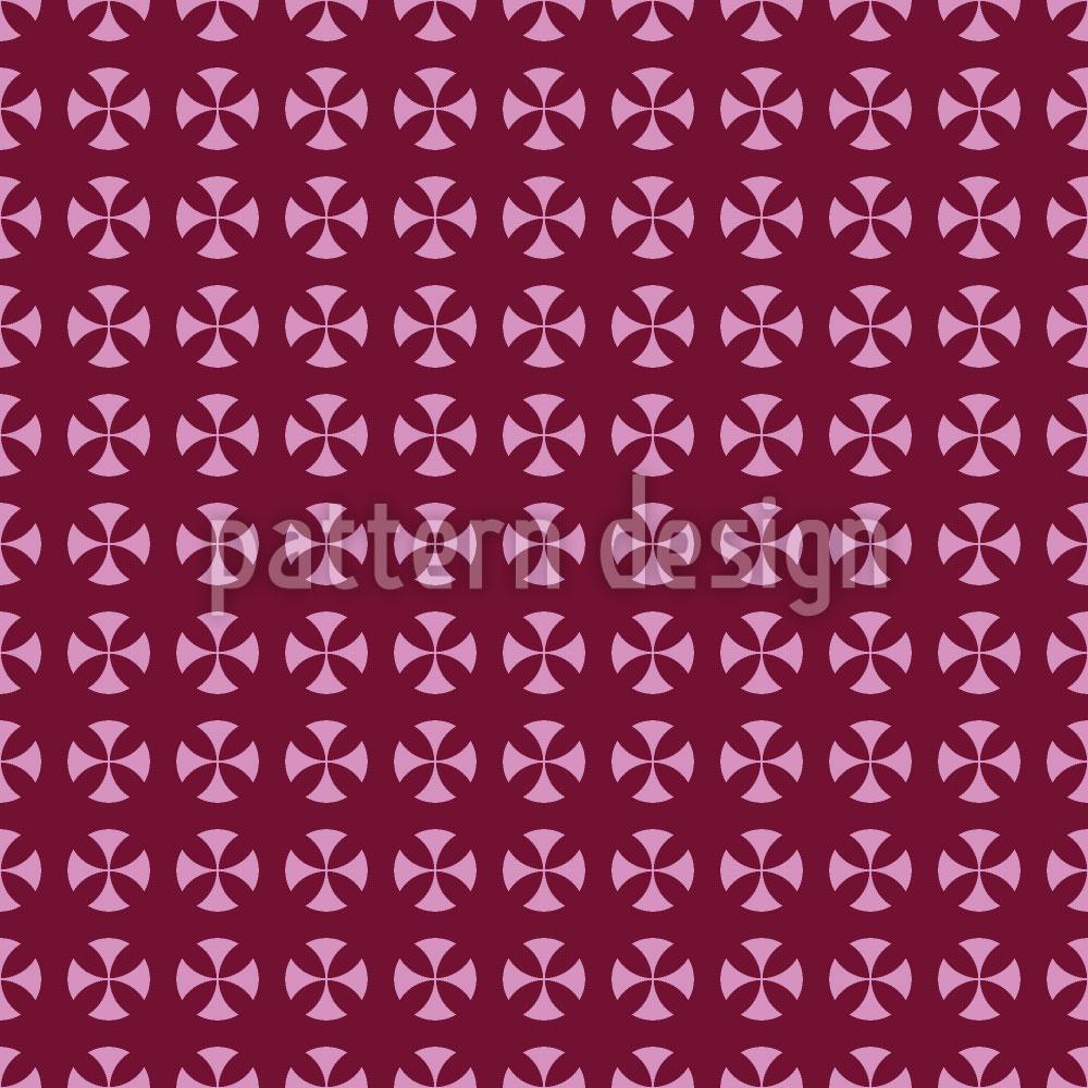 Designtapete Kreis Kreuz