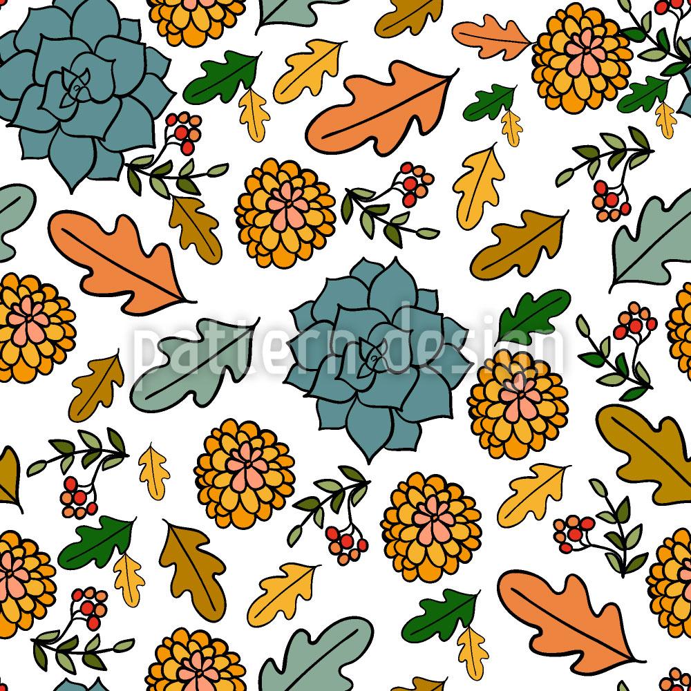 Designtapete Natürliche Herbst Schönheiten