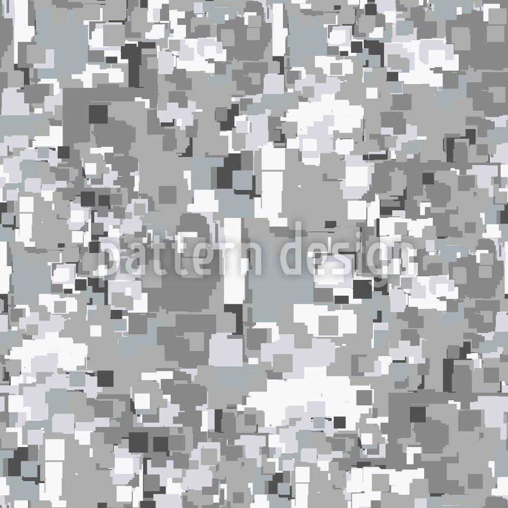 Designtapete Pixelsturm