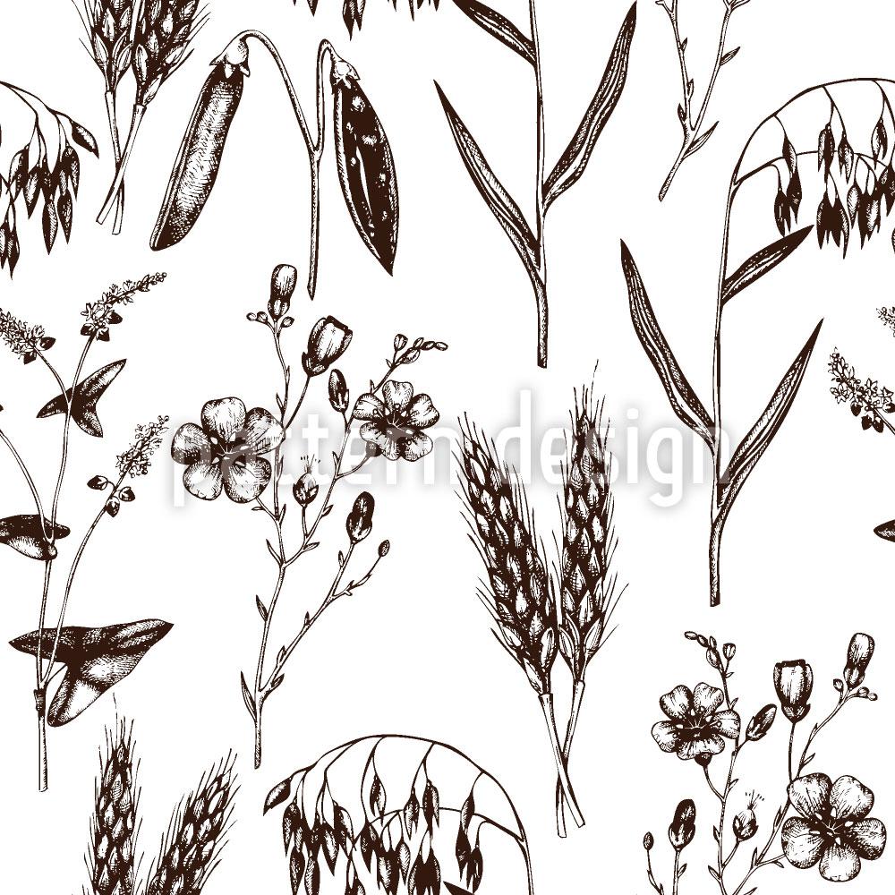 Designtapete Öko Pflanzen