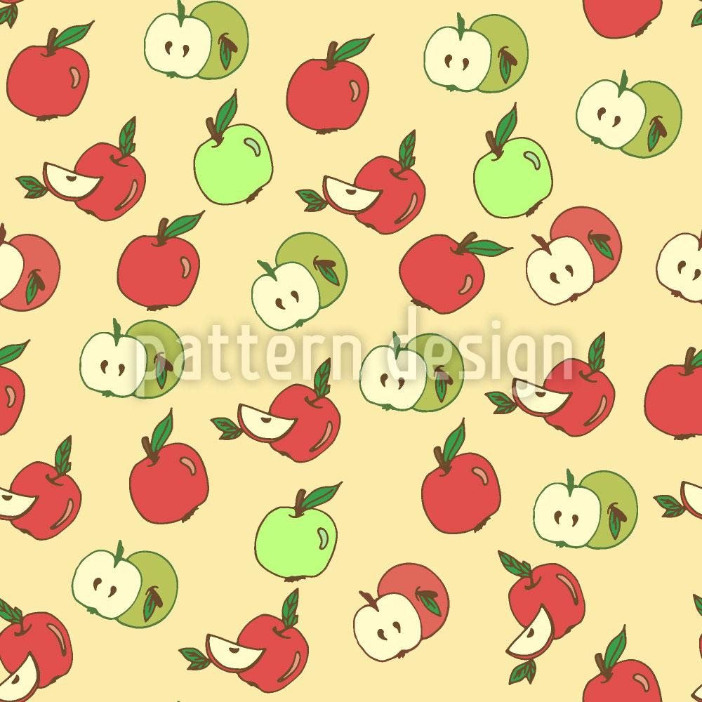 Designtapete Wähle Einen Apfel