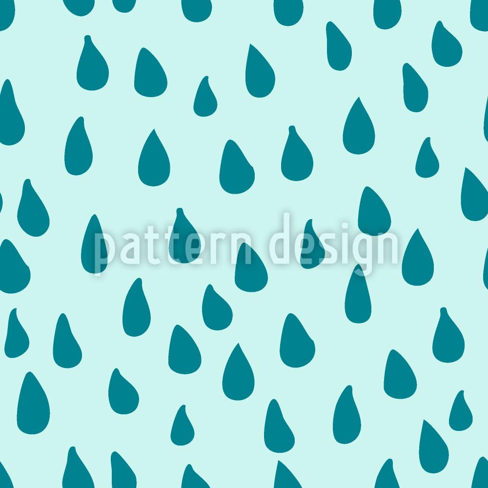 Designtapete Erfrischender Regen