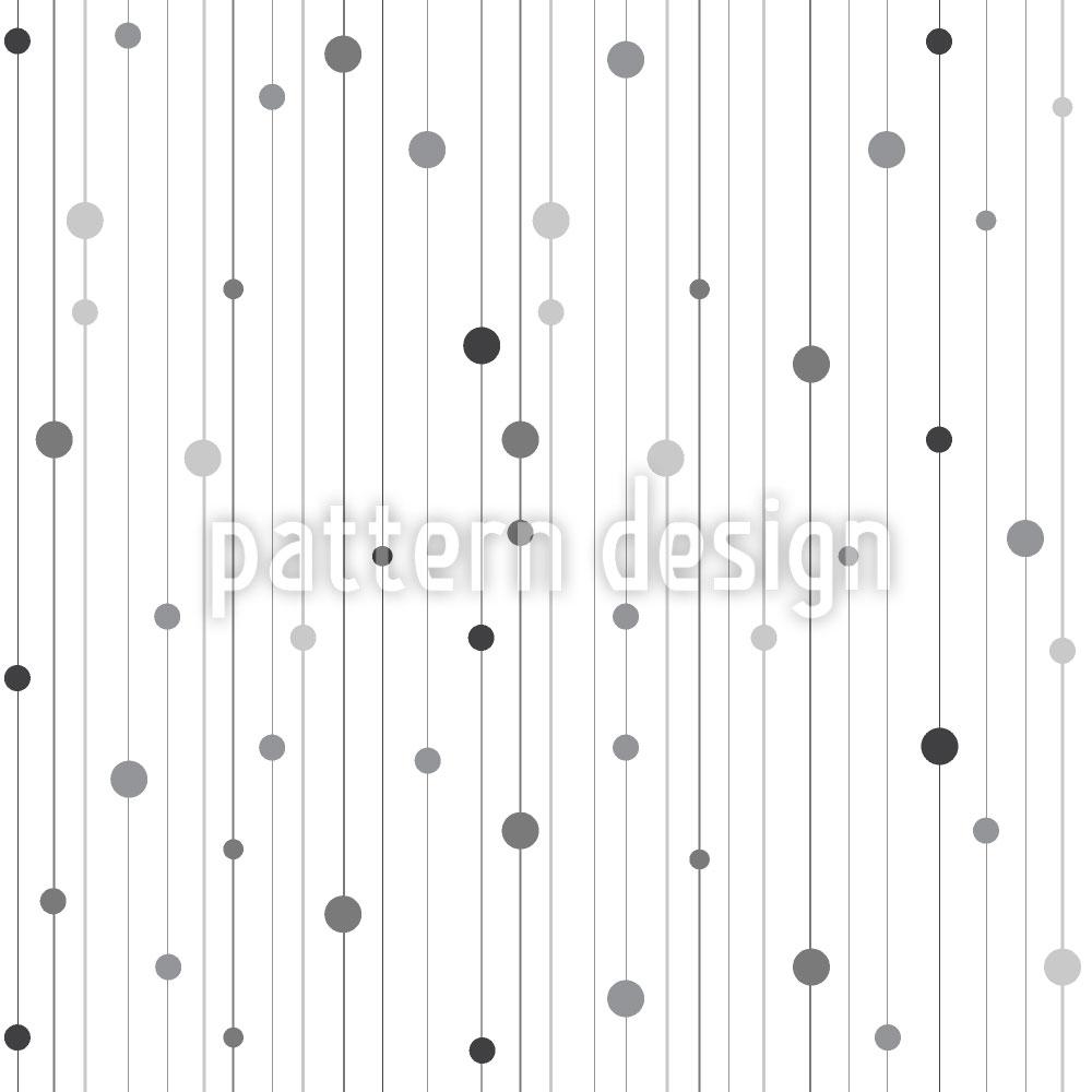 Designtapete Streifen und Punkte