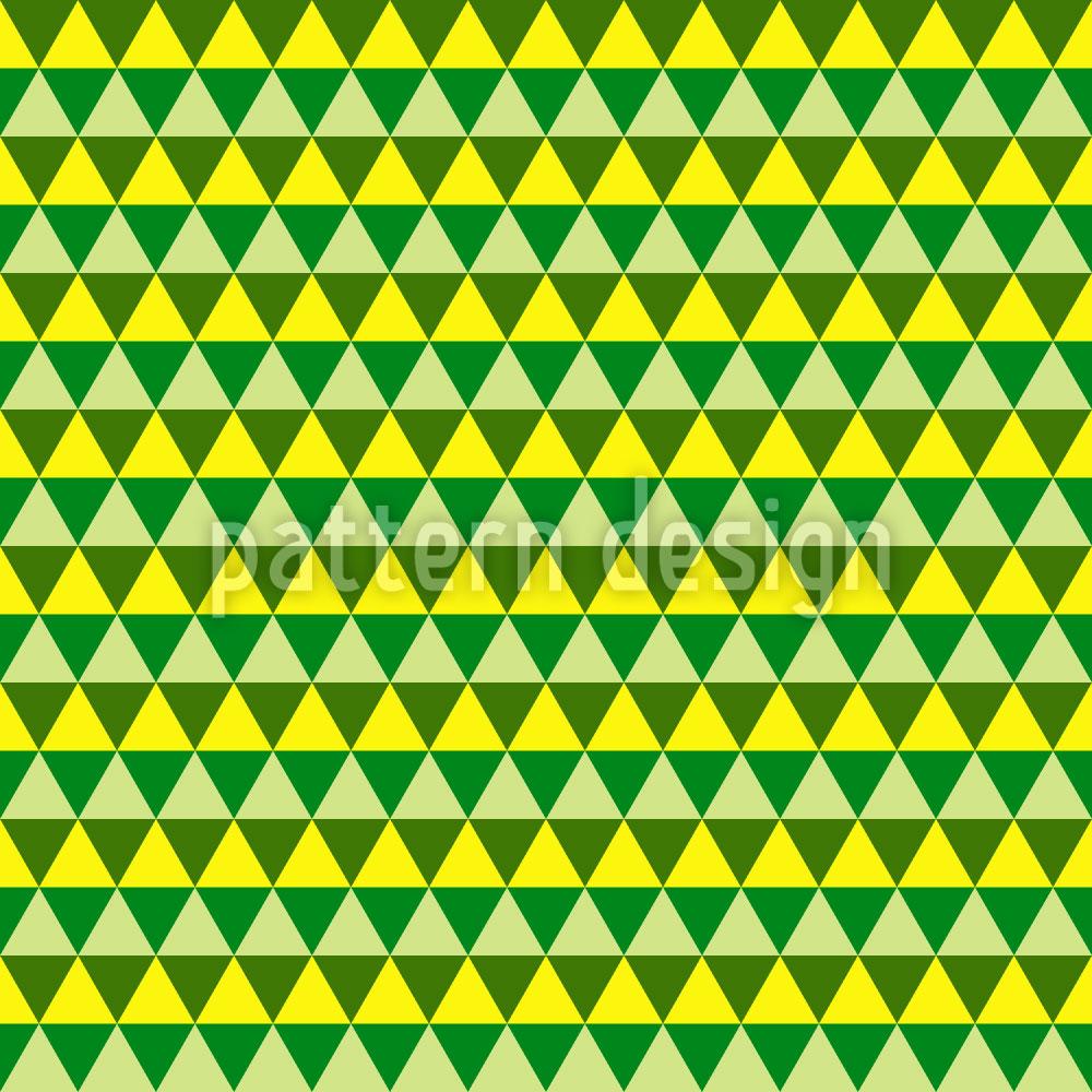 Designtapete Dreiecke Zeigen Den Weg