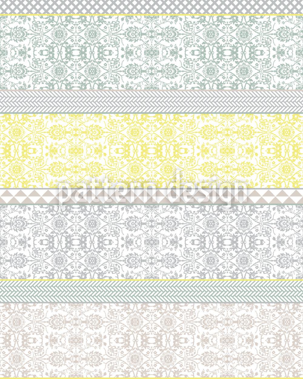 Designtapete Boheme Collage