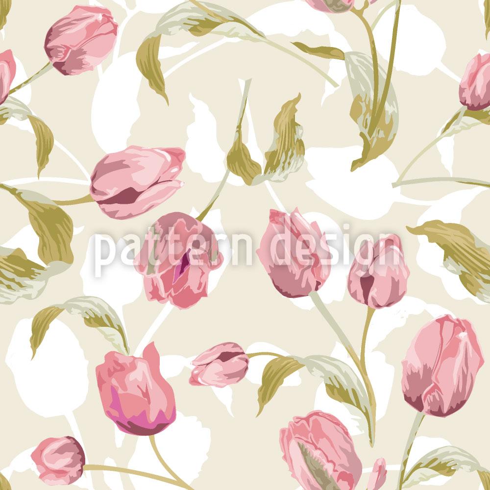 Designtapete Tulpen