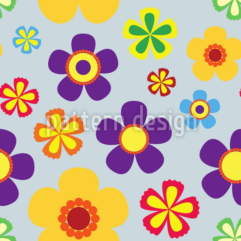 Designtapete Flower Power Im Frühjahr