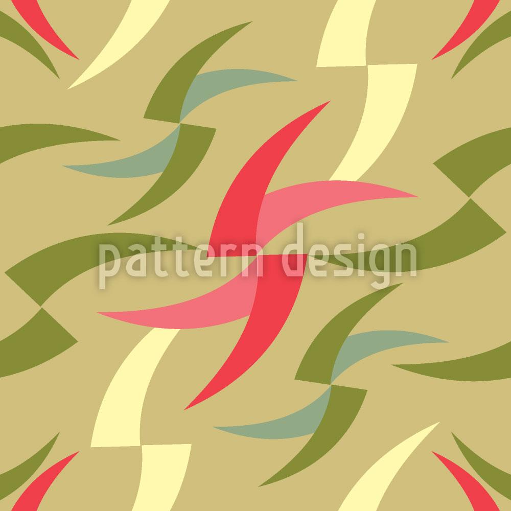 Designtapete Grafischer Ausdruck