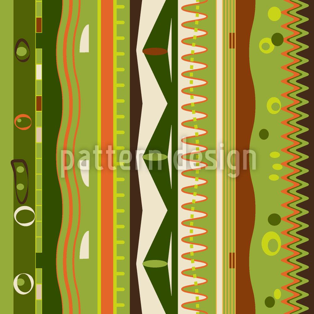 Designtapete Streifen An Die Wand