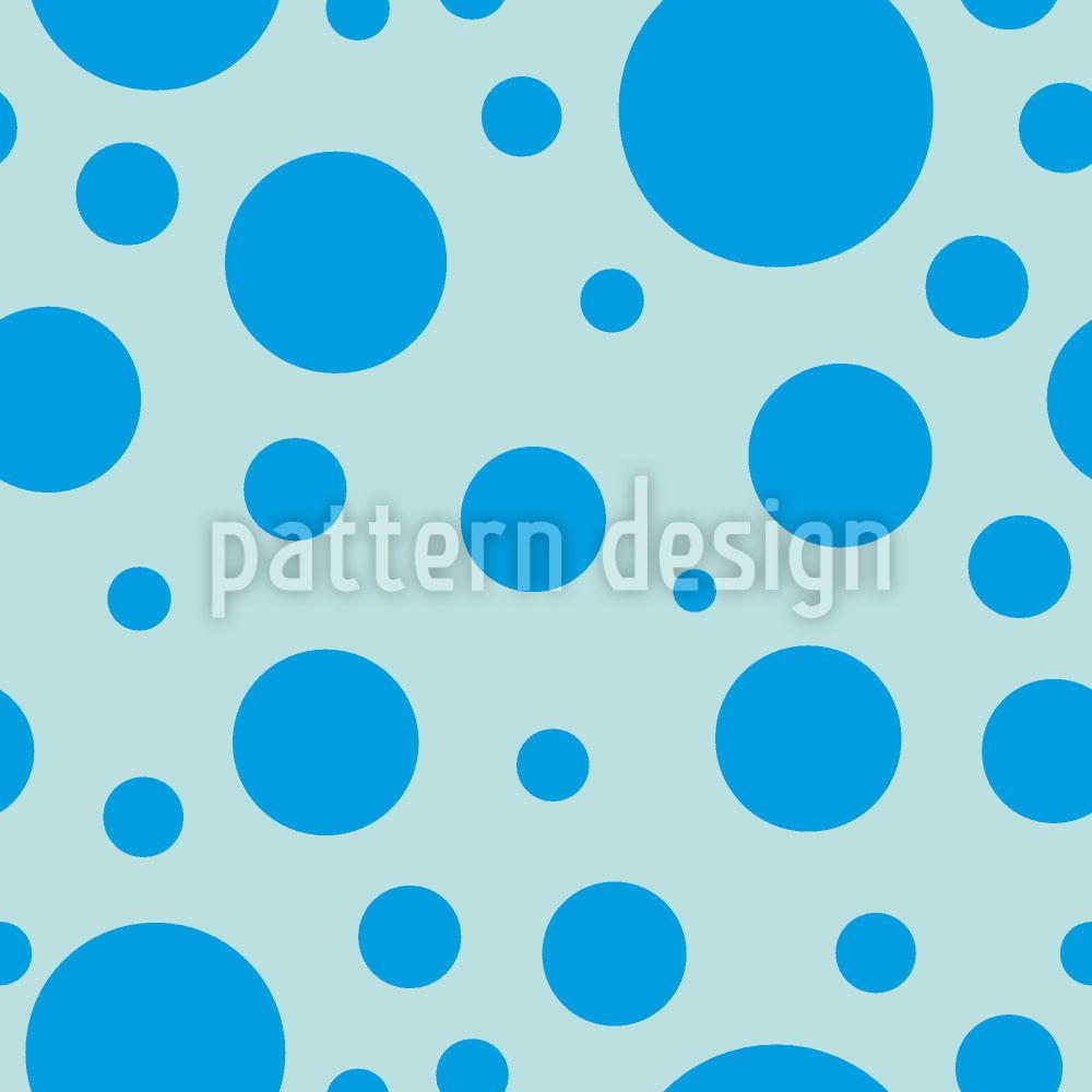Designtapete Blaue Seifenblasen
