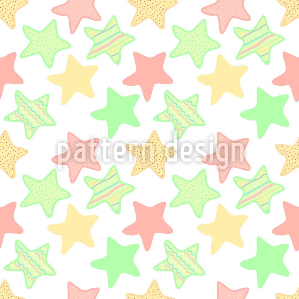 Designtapete Gelee Sterne