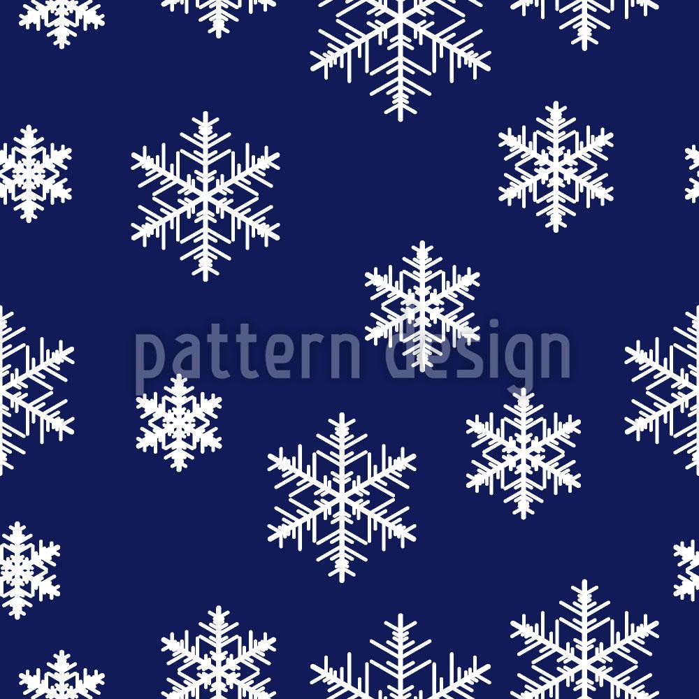 Designtapete Winterwunder