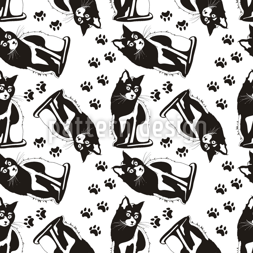 Designtapete Katzen Auf Wache