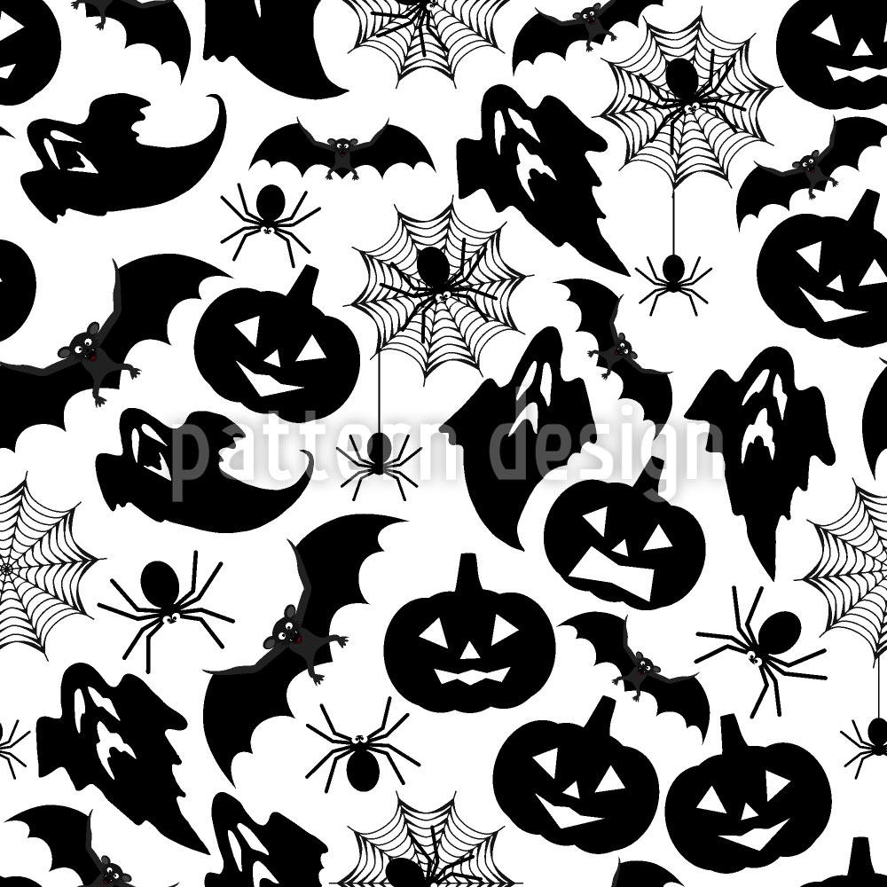 Designtapete Halloween
